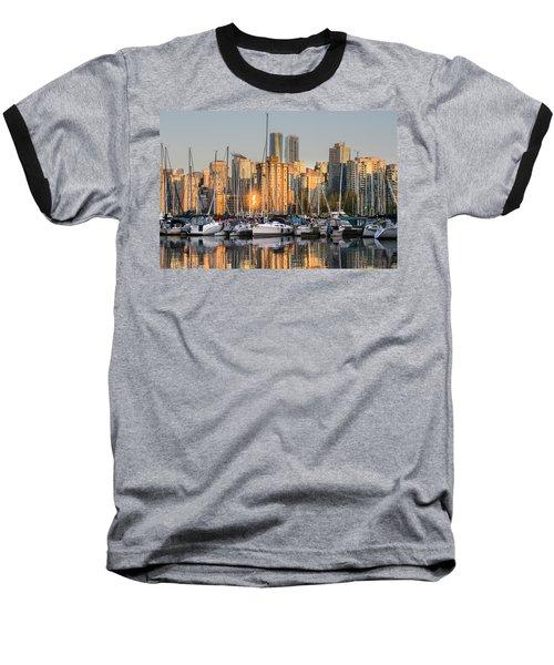 Sunset Skyline Baseball T-Shirt