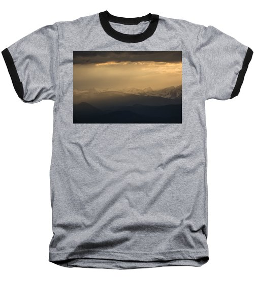 Baseball T-Shirt featuring the photograph Sunset Softness by Colleen Coccia