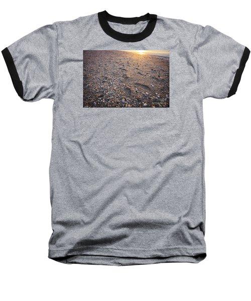 Baseball T-Shirt featuring the photograph Sunset Step by Paul Cammarata