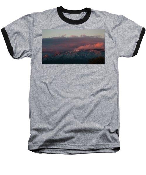 Sunset Storm On The Sangre De Cristos Baseball T-Shirt
