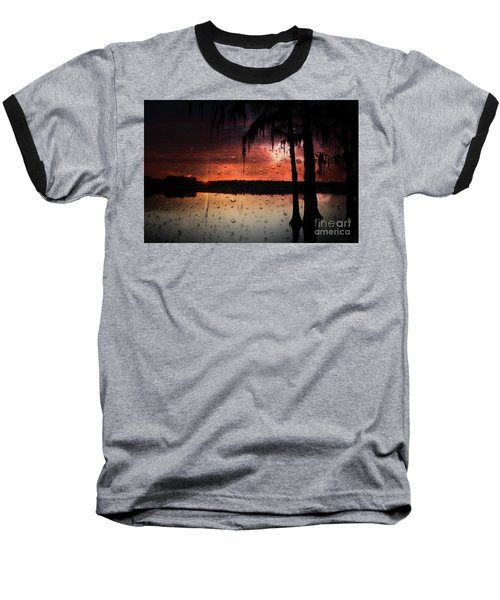 Sunset Storms Baseball T-Shirt