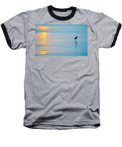Sunset Stroll Baseball T-Shirt