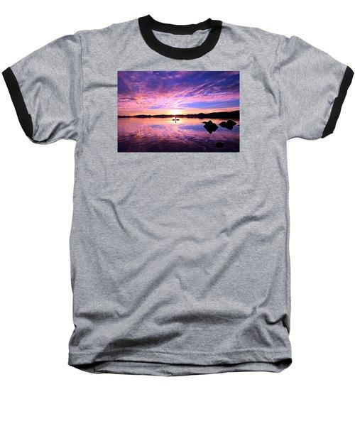Sunset Supper Baseball T-Shirt