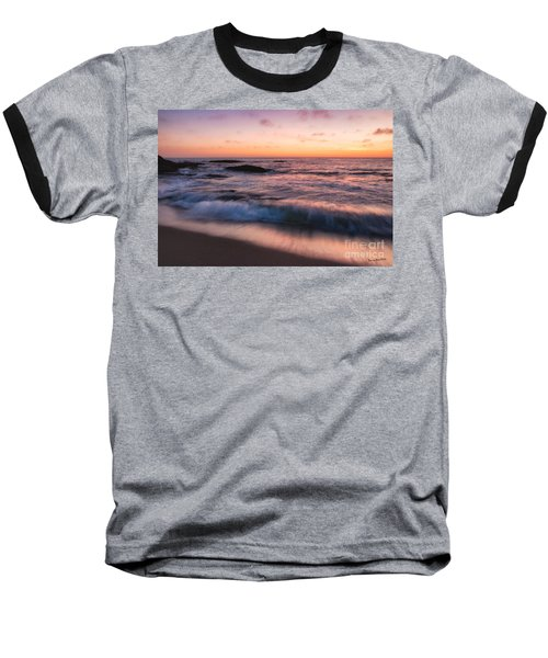 Sunset Surf Baseball T-Shirt