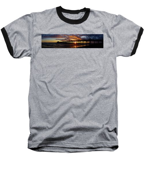 Baseball T-Shirt featuring the photograph Sunset  by Thanh Thuy Nguyen