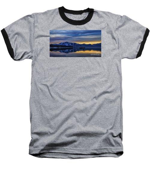 Sunset Timber Cove Baseball T-Shirt by Mitch Shindelbower