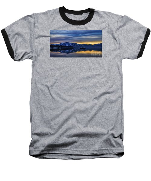 Sunset Timber Cove Baseball T-Shirt