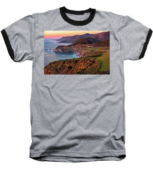 Sunset View From Hurricane Point Baseball T-Shirt