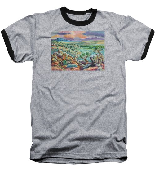 Sunset View From The Cedar Breaks Baseball T-Shirt by Dawn Senior-Trask
