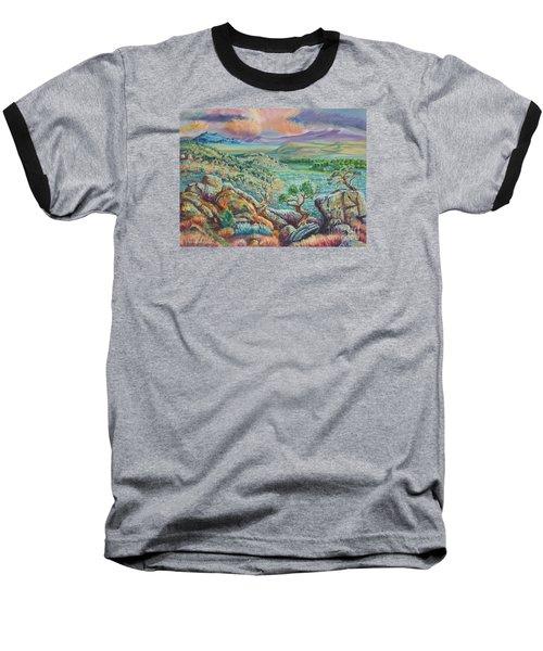 Sunset View From The Cedar Breaks Baseball T-Shirt