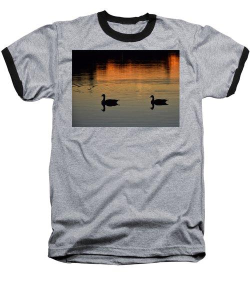 Sunset View Baseball T-Shirt