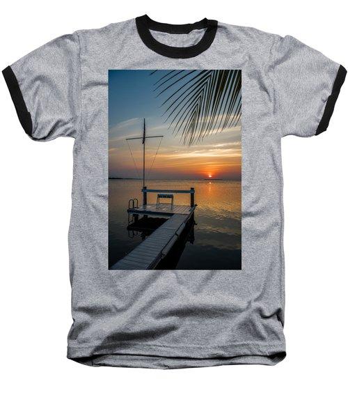 Sunset Villa Baseball T-Shirt