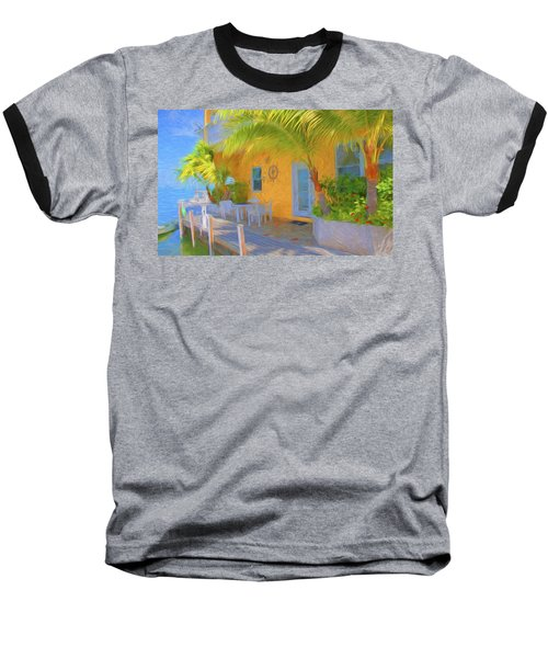 Sunset Villas Waterfront Apartment Baseball T-Shirt
