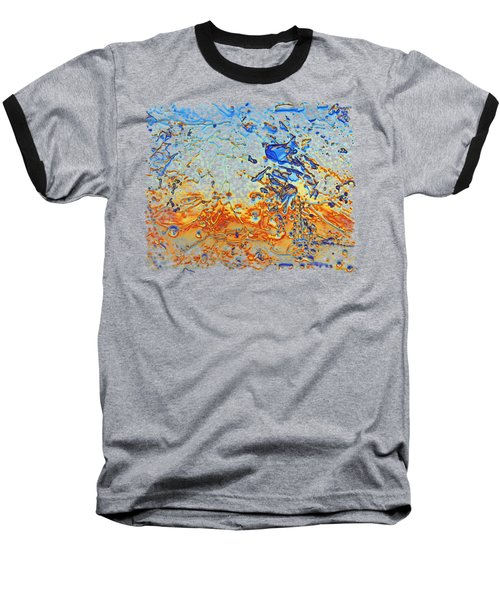 Sunset Walk Baseball T-Shirt by Sami Tiainen