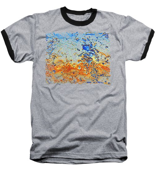 Sunset Walk Baseball T-Shirt