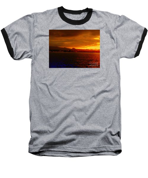 Sunset West Africa Baseball T-Shirt