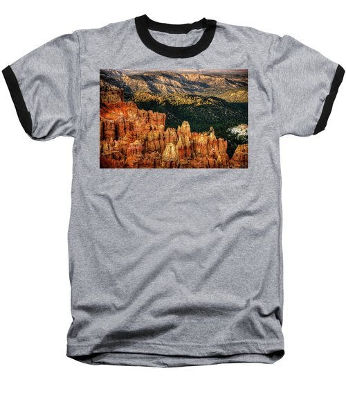 Sunsets In The Canyon Baseball T-Shirt by Rebecca Hiatt