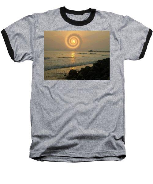 Sunsetswirl Baseball T-Shirt