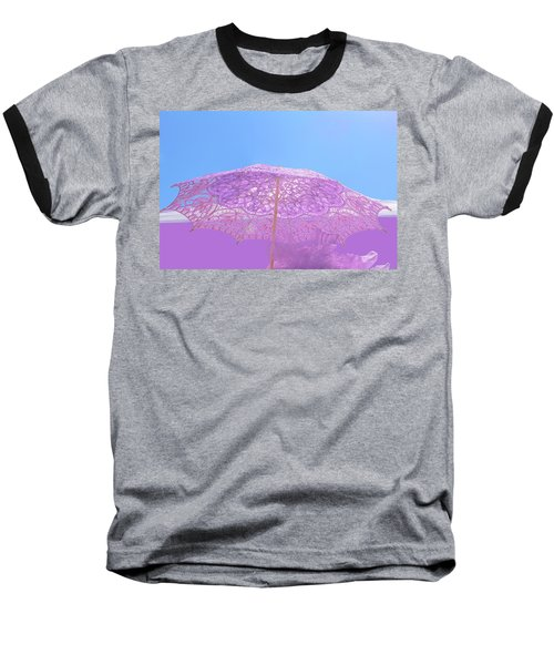 Sunshade In Pastel Color Baseball T-Shirt