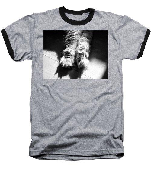 Sunshine And Shadows Baseball T-Shirt by Karen Stahlros