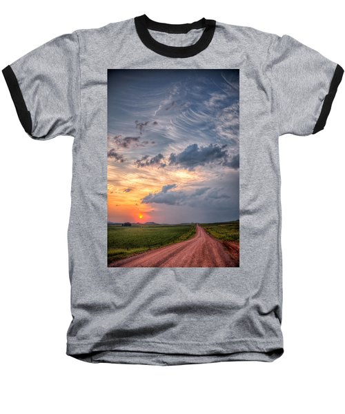 Sunshine And Storm Clouds Baseball T-Shirt