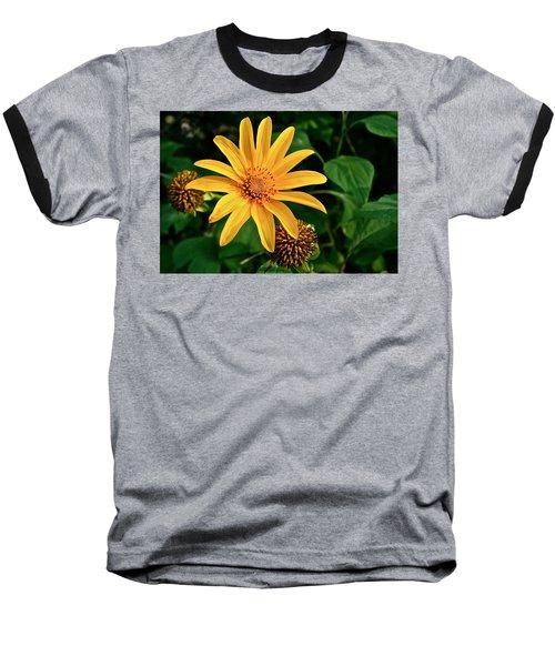 Baseball T-Shirt featuring the photograph Sunshine Cheerleader by Kathleen Scanlan