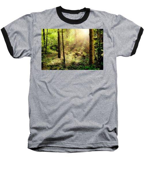 Sunshine From Above Baseball T-Shirt