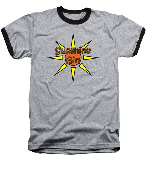 Sunshine Girl Baseball T-Shirt