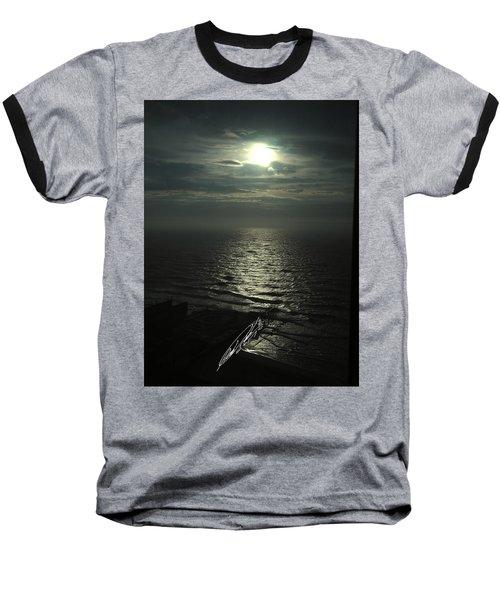 Sunshine Over Central Pier, Atlantic City, Nj Baseball T-Shirt