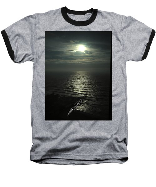 Sunshine Over Central Pier, Atlantic City, Nj Baseball T-Shirt
