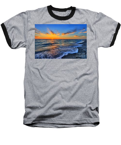 Baseball T-Shirt featuring the photograph Sunshine Skies by Scott Mahon