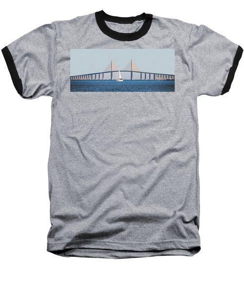 Sunshine Skyway Bridge #2 Baseball T-Shirt