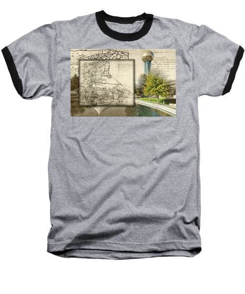 Sunsphere Mapped Baseball T-Shirt