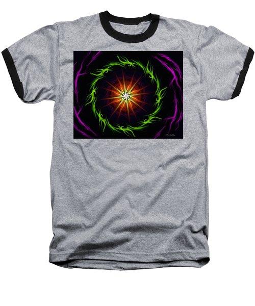 Sunstar Baseball T-Shirt by Jennifer Galbraith
