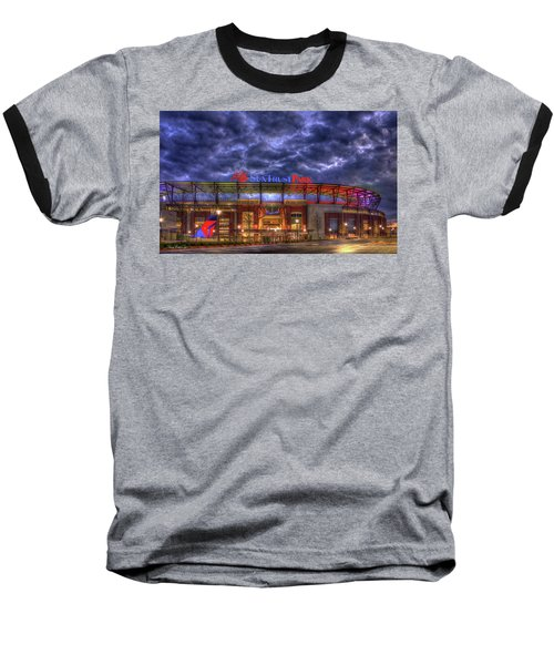 Suntrust Park Unfinished Atlanta Braves Baseball Art Baseball T-Shirt
