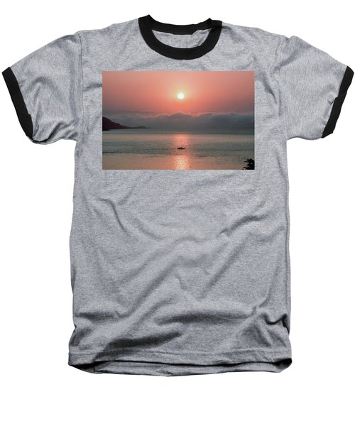 Baseball T-Shirt featuring the photograph Sunup San Francisco Bay by Frank DiMarco