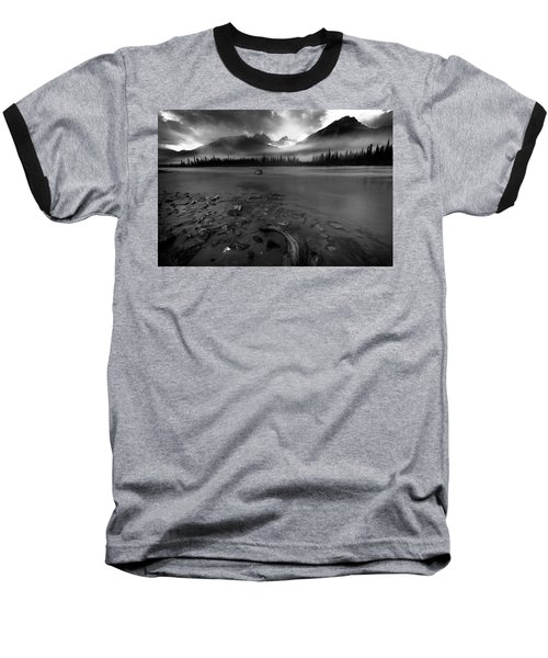 Sunwapta River, Jasper Baseball T-Shirt