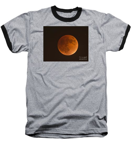Super Blood Moon Baseball T-Shirt