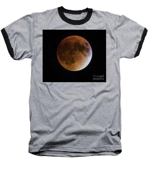Super Blood Moon Lunar Eclipses Baseball T-Shirt