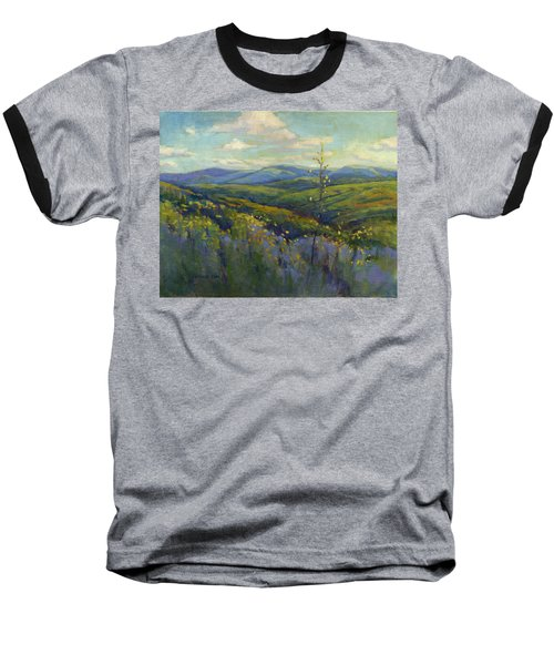Super Bloom 4 Baseball T-Shirt