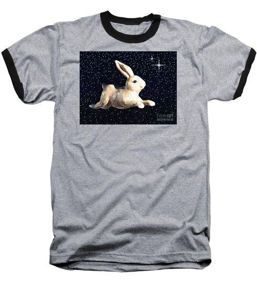 Super Bunny Baseball T-Shirt by Sarah Loft