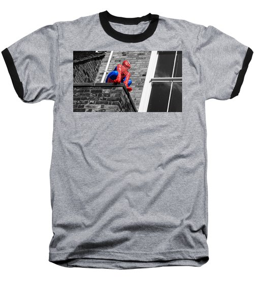 Super Hero Baseball T-Shirt