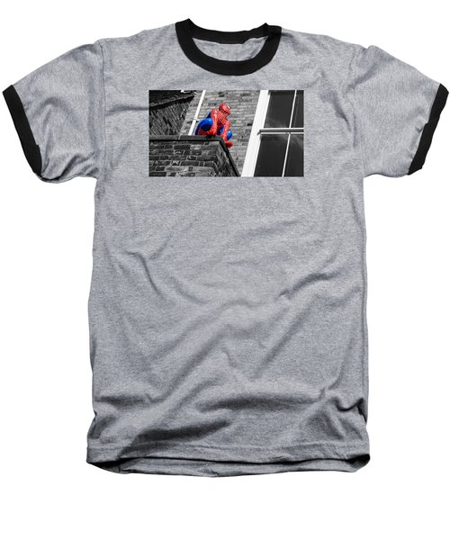 Super Hero Baseball T-Shirt