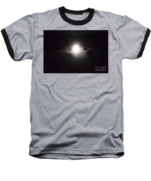 Super Moon 1 Baseball T-Shirt