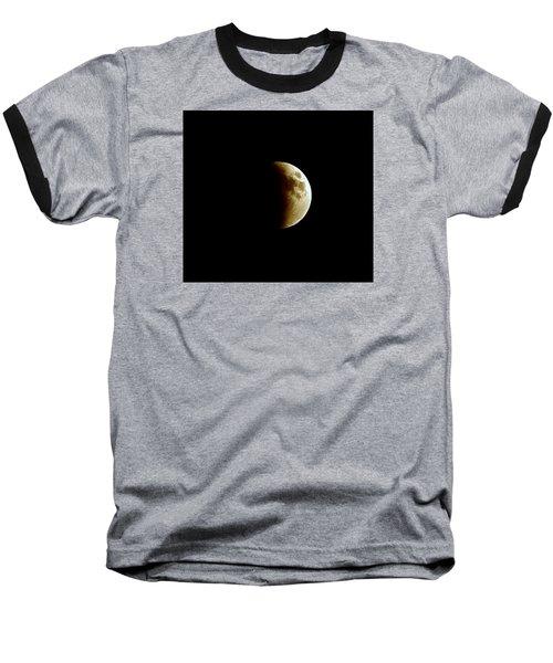 Super Moon Eclipse 2015 Baseball T-Shirt by Diana Angstadt