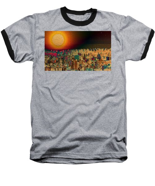 Super Moon Baseball T-Shirt