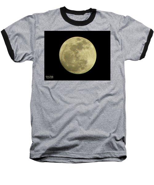Super Moon March 19 2011 Baseball T-Shirt