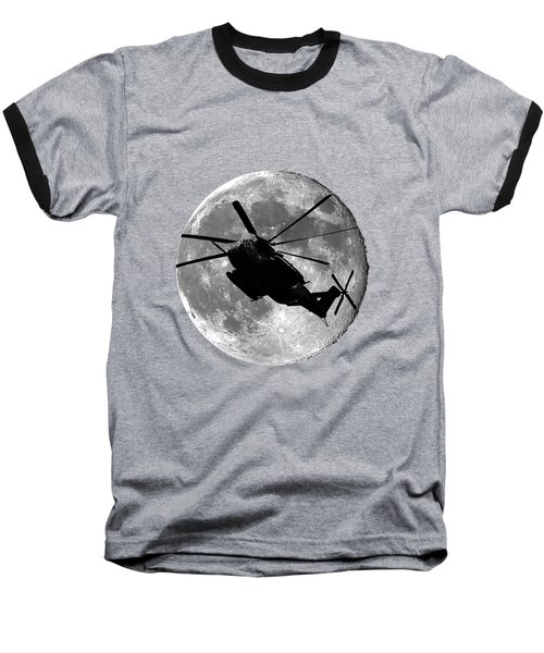 Super Stallion Silhouette .png Baseball T-Shirt