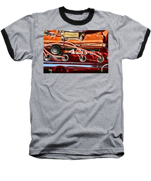 Super Stock Ss 426 IIi Hemi Motor Baseball T-Shirt by Gordon Dean II