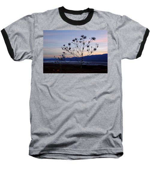 Superbloom Sunset In Death Valley 102 Baseball T-Shirt